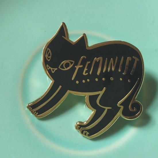 https://www.etsy.com/listing/263849286/black-cat-feminist-enamel-pin