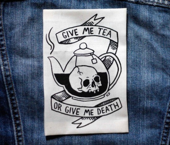 https://www.etsy.com/listing/185341364/tea-or-death-white-patch